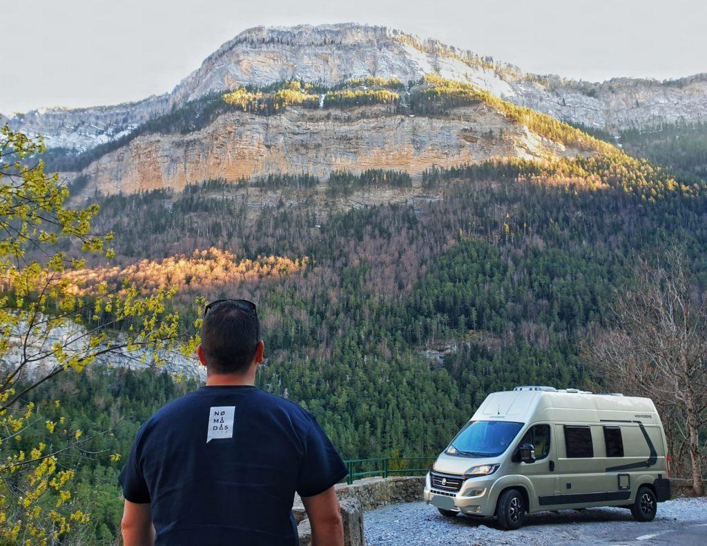 viaje en furgoneta camper